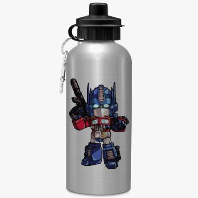 Спортивная бутылка/фляжка Optimus Prime