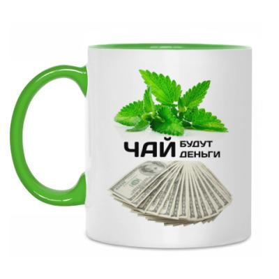 Кружка Чай будут деньги