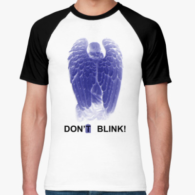 Футболка реглан W.Angel Don't blink двусторон.