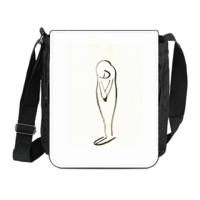 Сумка на плечо (мини-планшет) Тишина