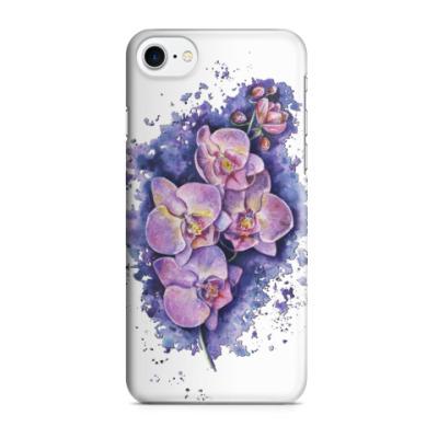 Чехол для iPhone 7/8 Цветочная иллюстрация