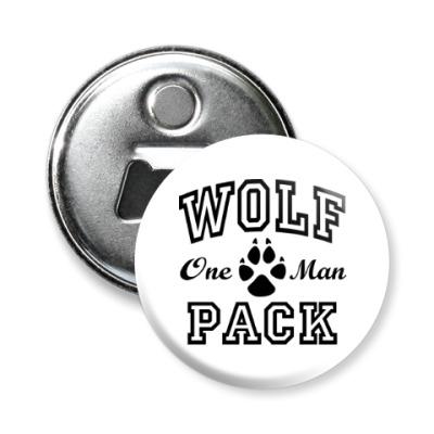 Магнит-открывашка One Man Wolfpack