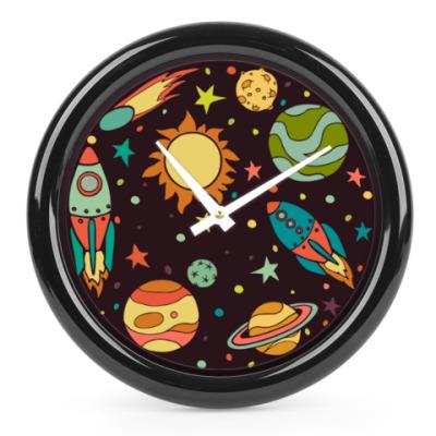 Часы Космос