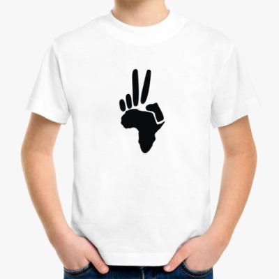 Детская футболка Peace (Африка)