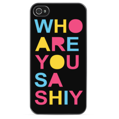 Чехол для iPhone Who are you