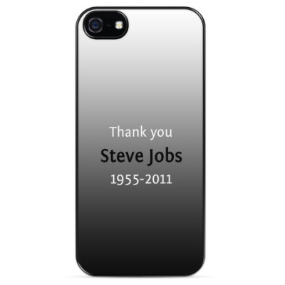 Чехол для iPhone Thank you Steve Jobs