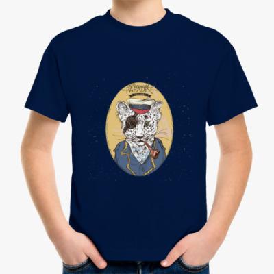Детская футболка Пиратский леопард