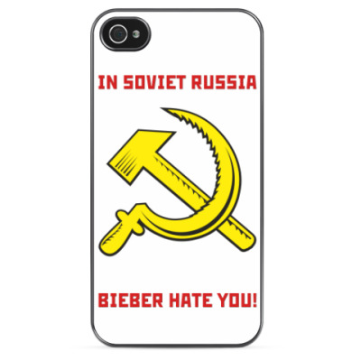 Чехол для iPhone BACK IN USSR