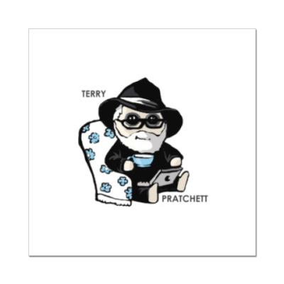 Наклейка (стикер) Terry Pratchett (  Discworld )