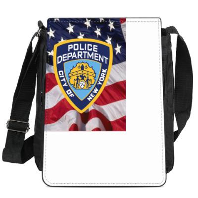 Сумка-планшет Знак NYPD (USA)