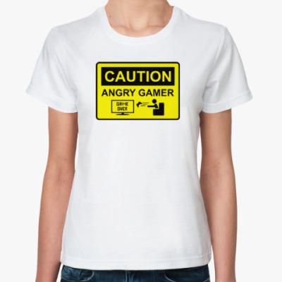 Классическая футболка Angry Gamer