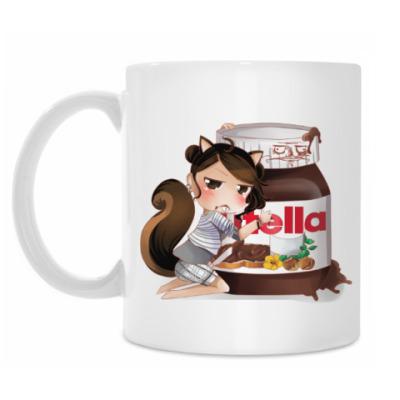 Кружка Nutella Girl