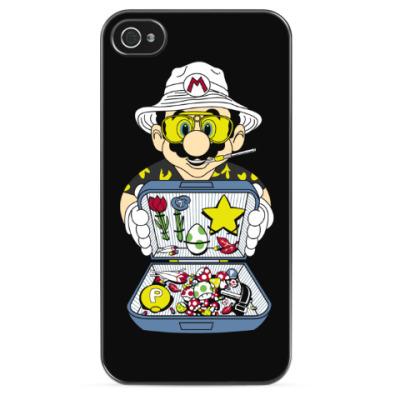 Чехол для iPhone Супер Марио - Рауль Дюк