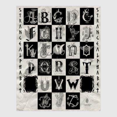 Постер Strange Alphabet