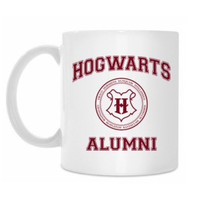Кружка Hogwarts Alumni
