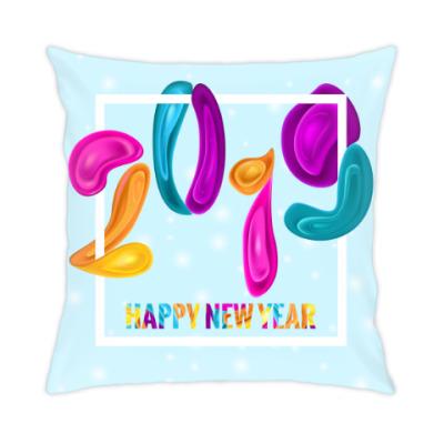 Подушка Новый год 2019