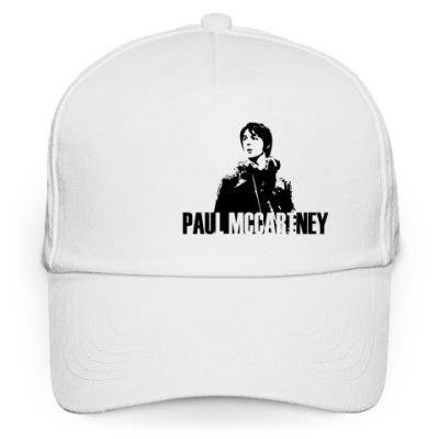 Кепка бейсболка Бейсболка белая Paul McCartney