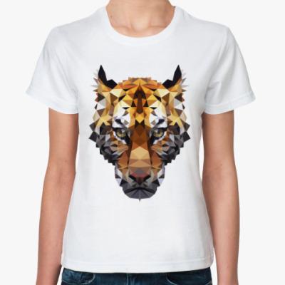Классическая футболка Тигр / Tiger