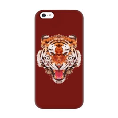 Чехол для iPhone 5c Тигр