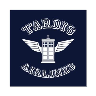 Наклейка (стикер) Tardis Airlines