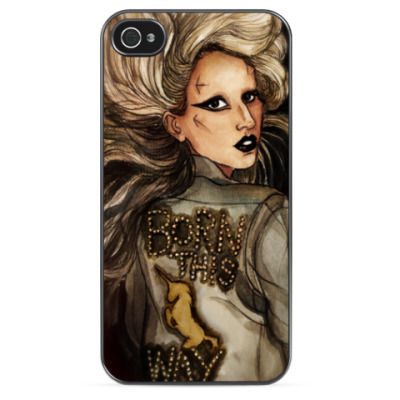 Чехол для iPhone LADY GAGA BTW