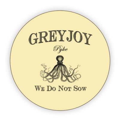 Костер (подставка под кружку) Greyjoy
