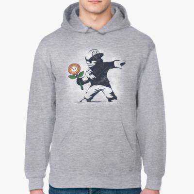 Толстовка худи Граффити Марио