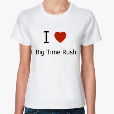 Классическая футболка I love BTR