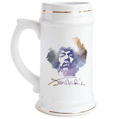 Пивная кружка  Jimi Hendrix - Джими Хендрикс