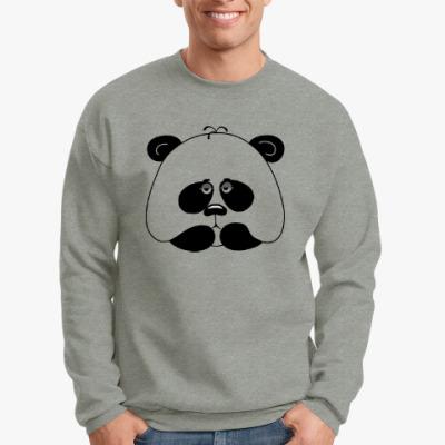 Свитшот Грустная панда