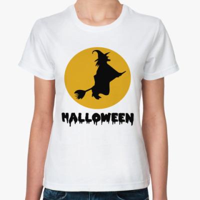 Классическая футболка Время ведьм Хэллоуин