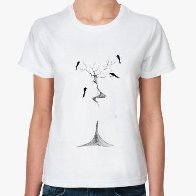 Классическая футболка Вороны