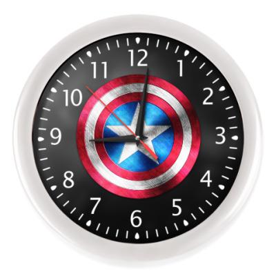 Настенные часы Captain America