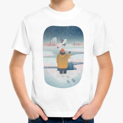 Детская футболка Привет!