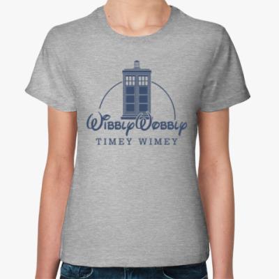Женская футболка Wibbly Wobbly Timey Wimey