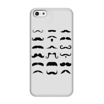 Чехол для iPhone 5/5s Усы