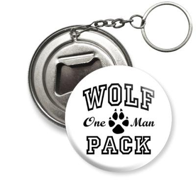 Брелок-открывашка One Man Wolfpack