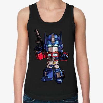 Женская майка Optimus Prime