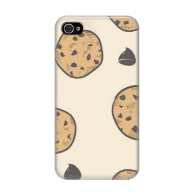 Чехол для iPhone 4/4s печеньки