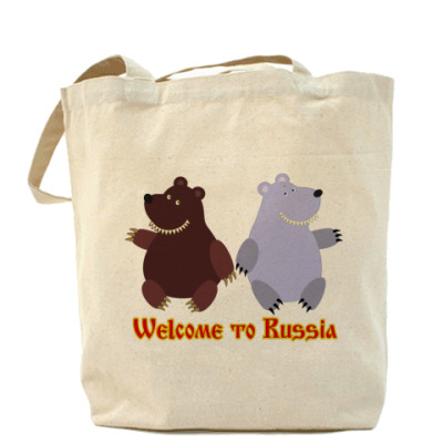 Сумка Russian bears
