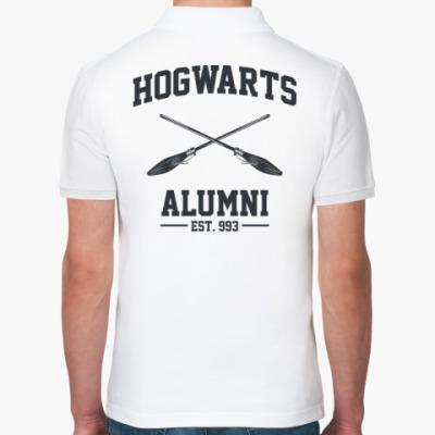 Рубашка поло Hogwarts Alumni