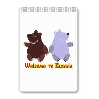 Блокнот Русские медведи