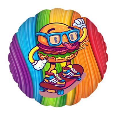 Подушка Бургер Скейтер