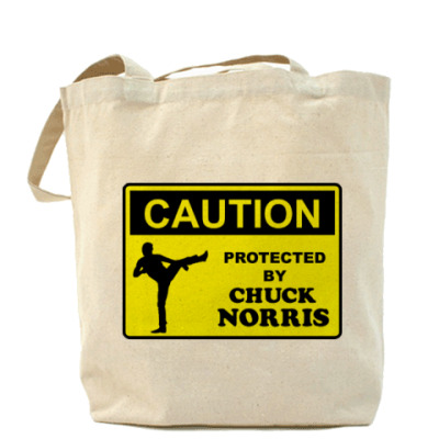 Сумка Protected by Chuck Norris