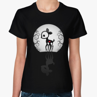 Женская футболка Ночь Ди