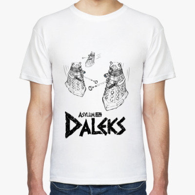 Футболка Asylum of the Daleks