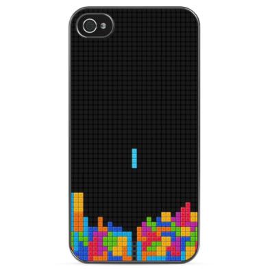 Чехол для iPhone Тетрис