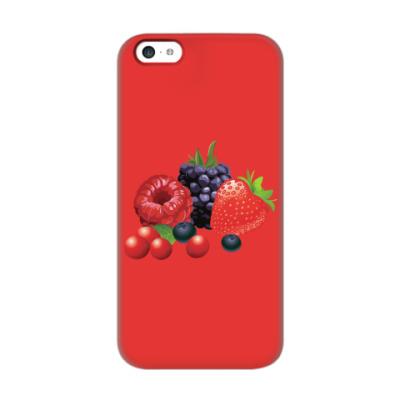 Чехол для iPhone 5c Ягоды