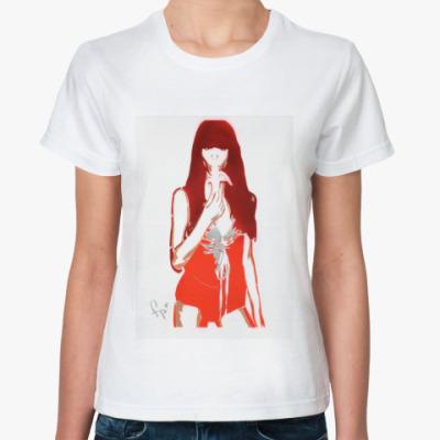 Классическая футболка Сексуальная девушка