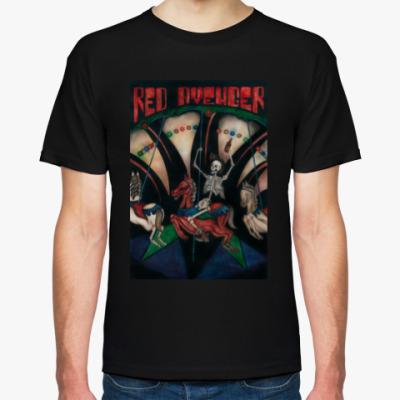 Футболка Футболка Red Avenger черная